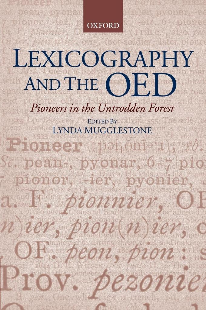 Lexicography and the OED als Buch (kartoniert)