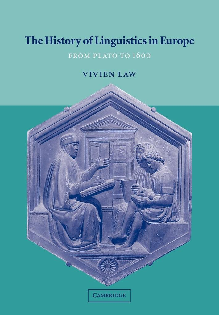 The History of Linguistics in Europe als Buch (kartoniert)