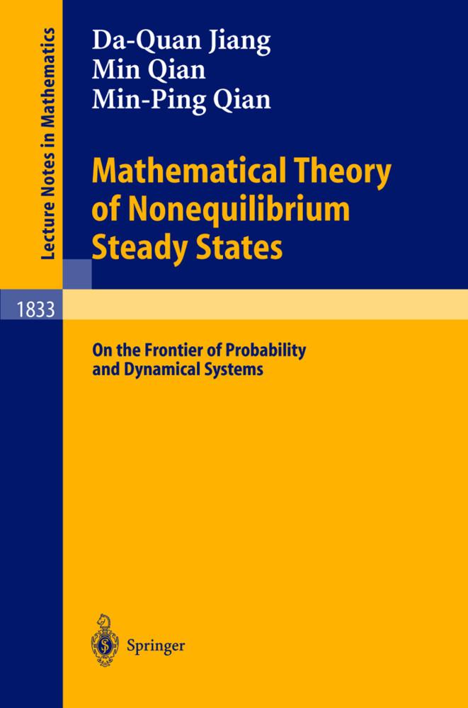Mathematical Theory of Nonequilibrium Steady States als Buch (kartoniert)