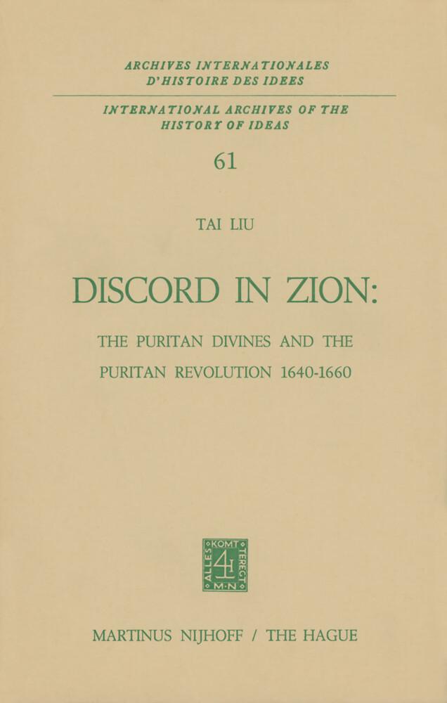 Discord in Zion als Buch (gebunden)
