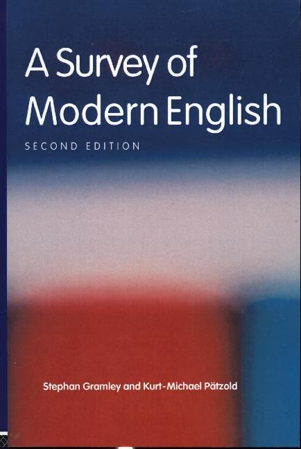 A Survey of Modern English als Buch (kartoniert)