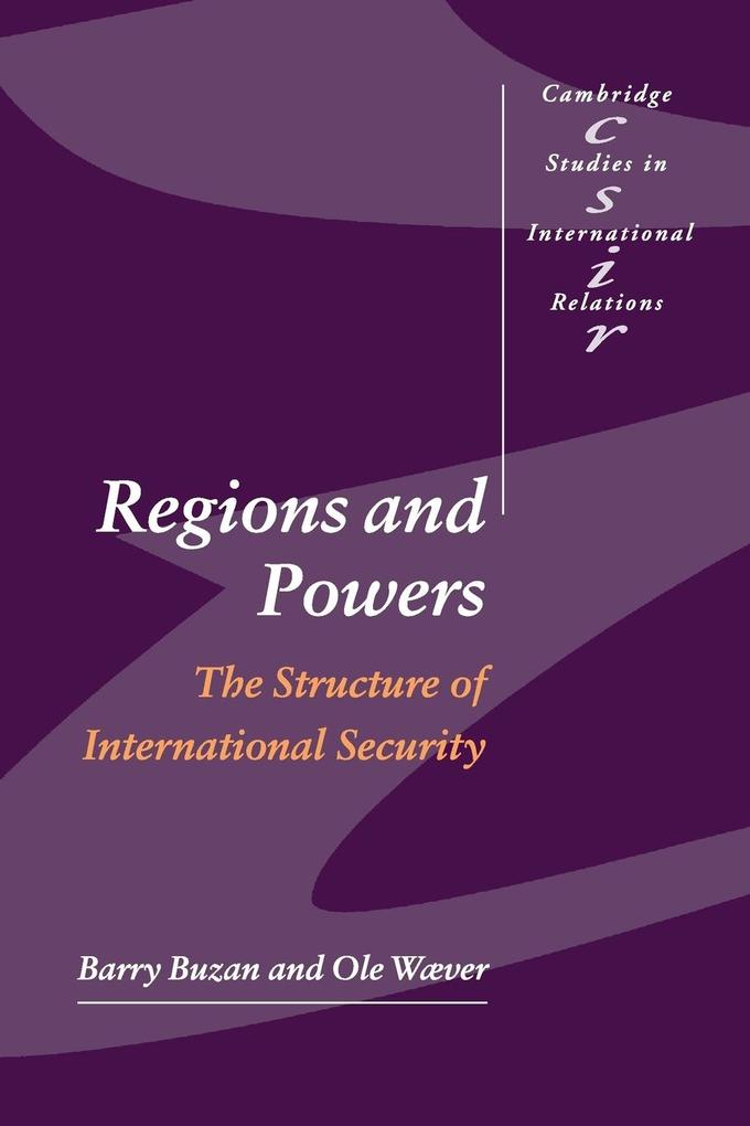 Regions and Powers als Buch (kartoniert)
