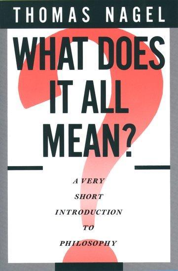 What Does It All Mean? als Buch (kartoniert)