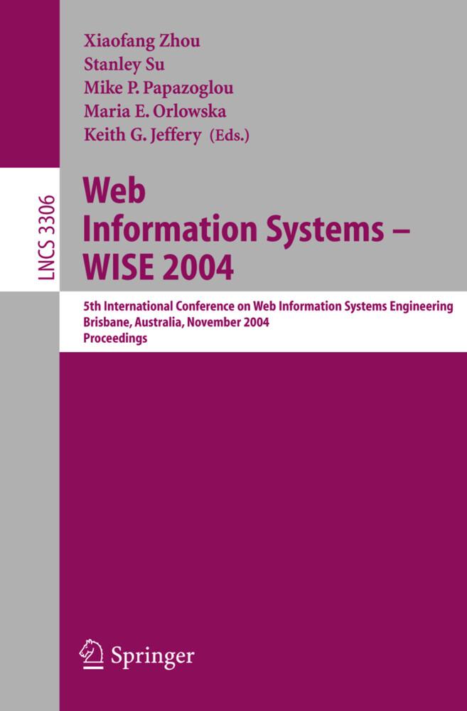Web Information Systems -- WISE 2004 als Buch (gebunden)