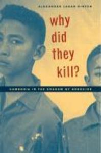 Why Did They Kill? als Buch (gebunden)