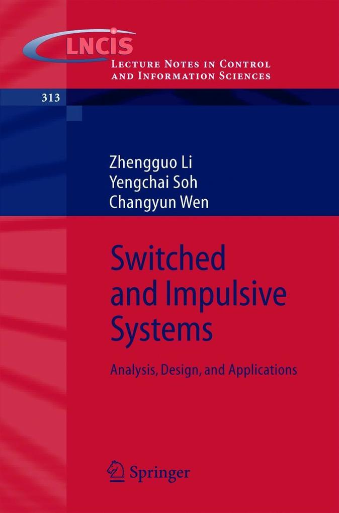 Switched and Impulsive Systems als Buch (kartoniert)