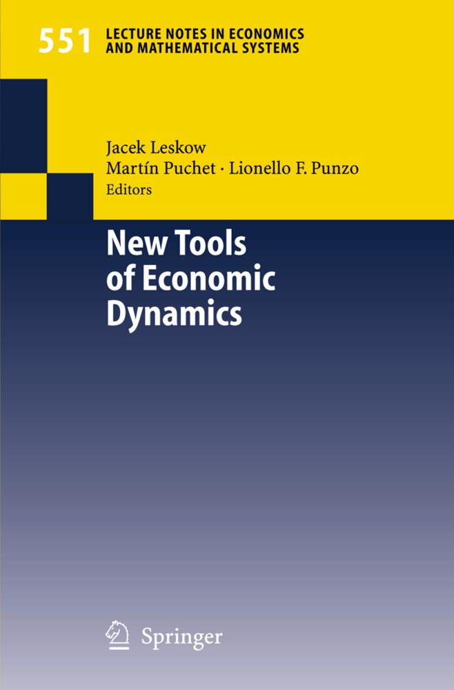 New Tools of Economic Dynamics als Buch (kartoniert)