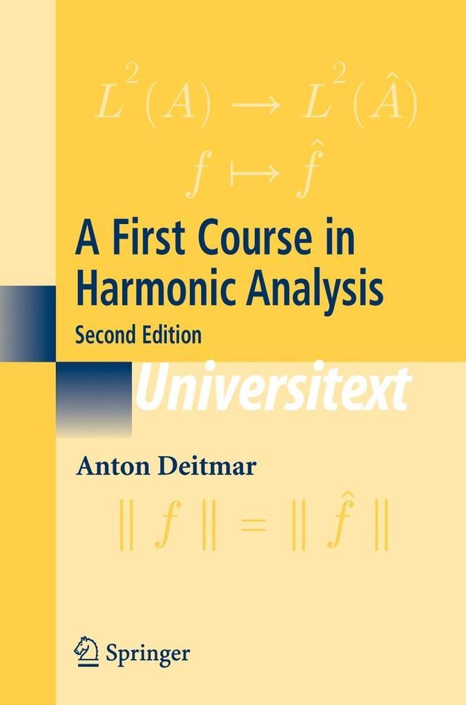 A First Course in Harmonic Analysis als Buch (kartoniert)