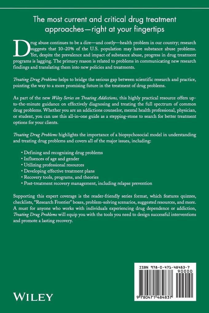 Treating Drug Problems als Buch (kartoniert)