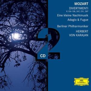 Divertimenti/Eine Kleine Nachtmusik/Adagio&Fuge als CD