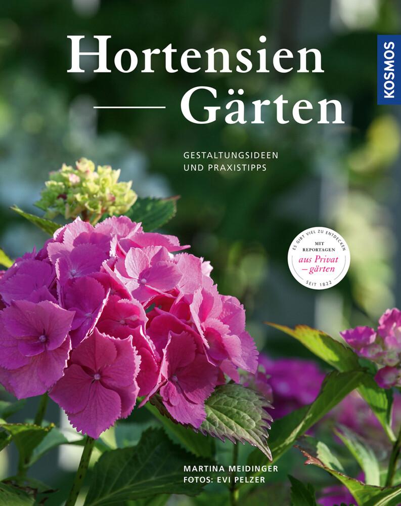 Hortensien-Gärten als Buch (gebunden)