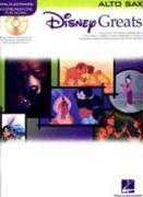 Disney Greats: For Alto Sax Instrumental Play-Along Pack