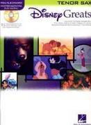 Disney Greats: For Tenor Sax Instrumental Play-Along Pack
