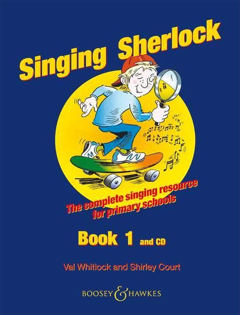 Singing Sherlock, Kinderchor, w. Audio-CD. Vol.1 als Blätter und Karten