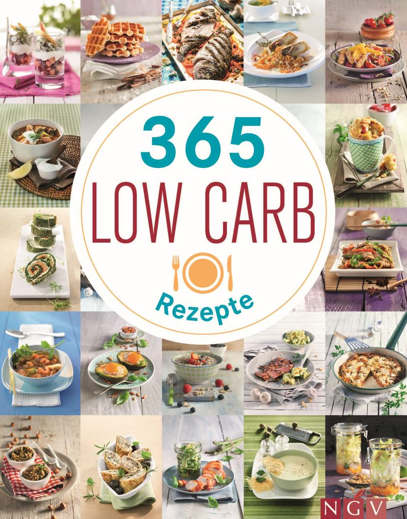 365 Low-Carb-Rezepte als eBook epub