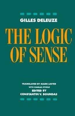 The Logic of Sense als Taschenbuch