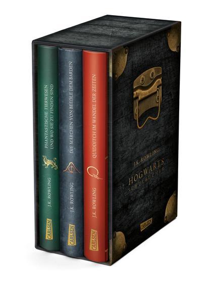 Die Hogwarts-Schulbücher im Schuber als Buch (gebunden)