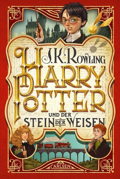 Harry Potter 1 und der Stein der Weisen als Buch (gebunden)