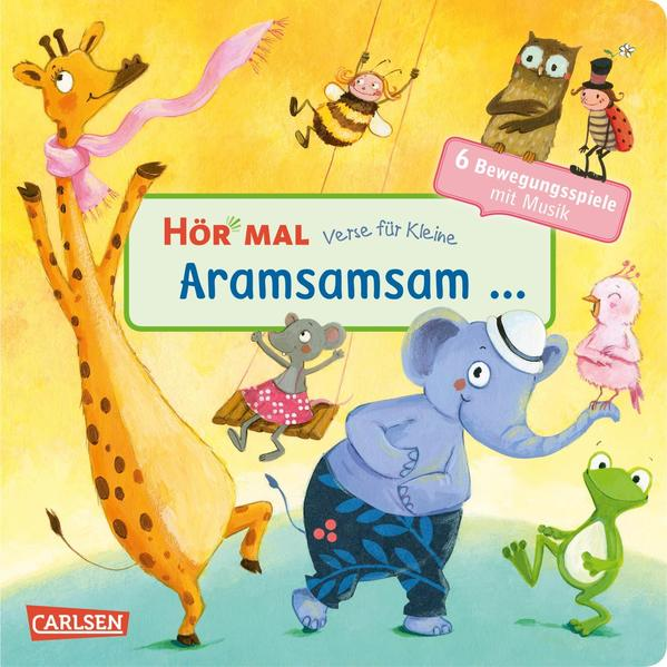 Hör mal (Soundbuch): Verse für Kleine: Aramsamsam als Buch (kartoniert)