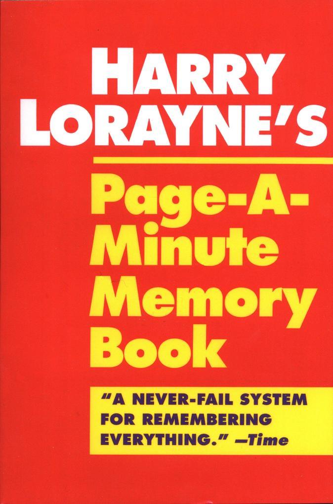 Page-A-Minute Memory Book als Taschenbuch