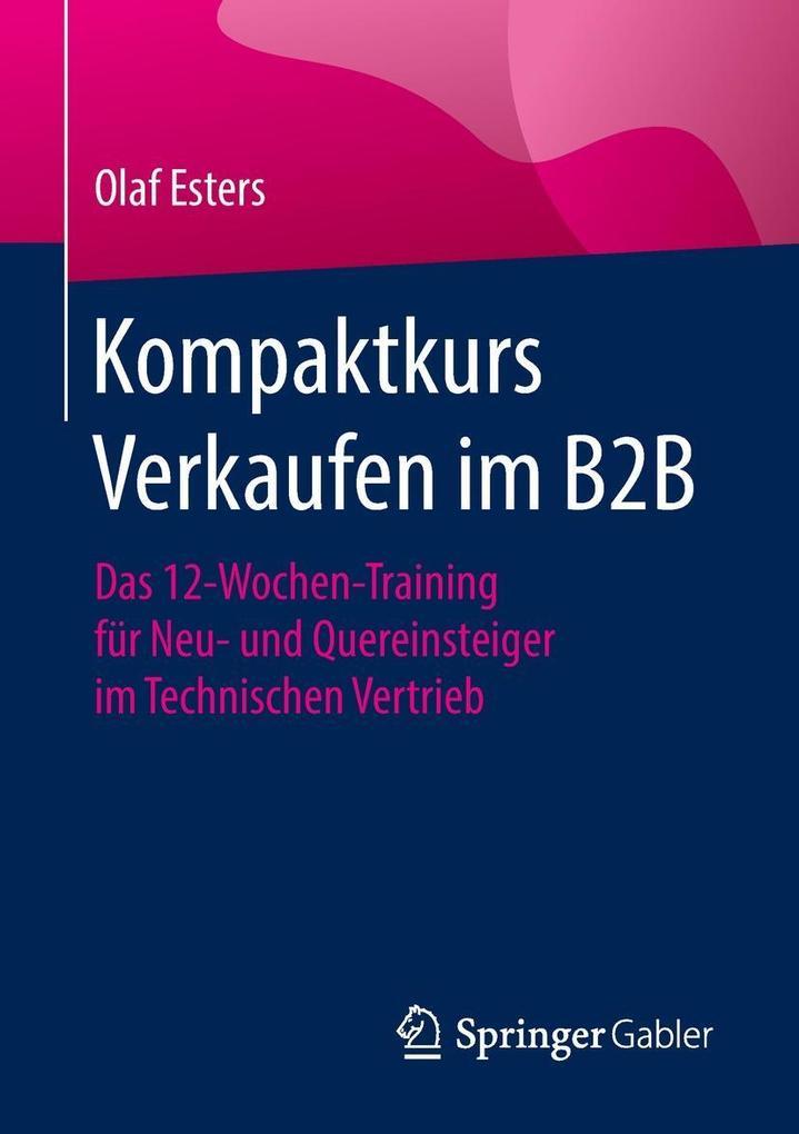 Kompaktkurs Verkaufen im B2B als eBook