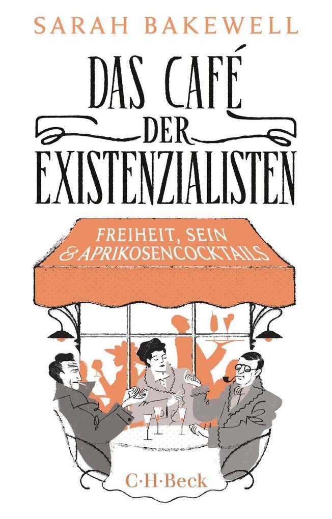Das Café der Existenzialisten als Buch (kartoniert)