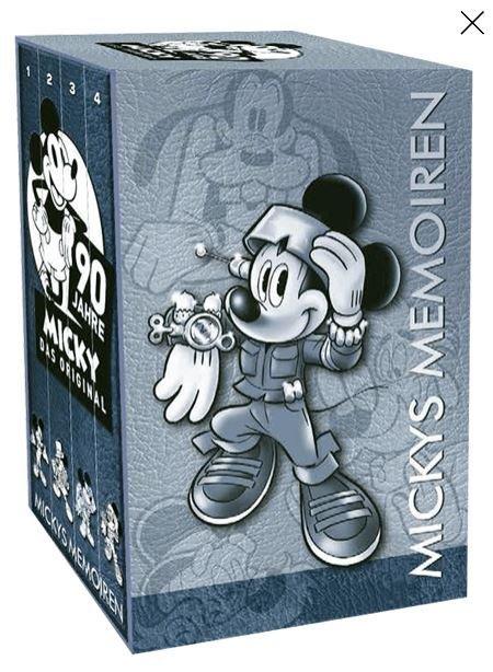 Lustiges Taschenbuch Mickys Memoiren (4 Bände im Schuber) als Taschenbuch