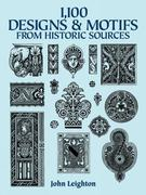 1100 Designs and Motifs from Historic Sources