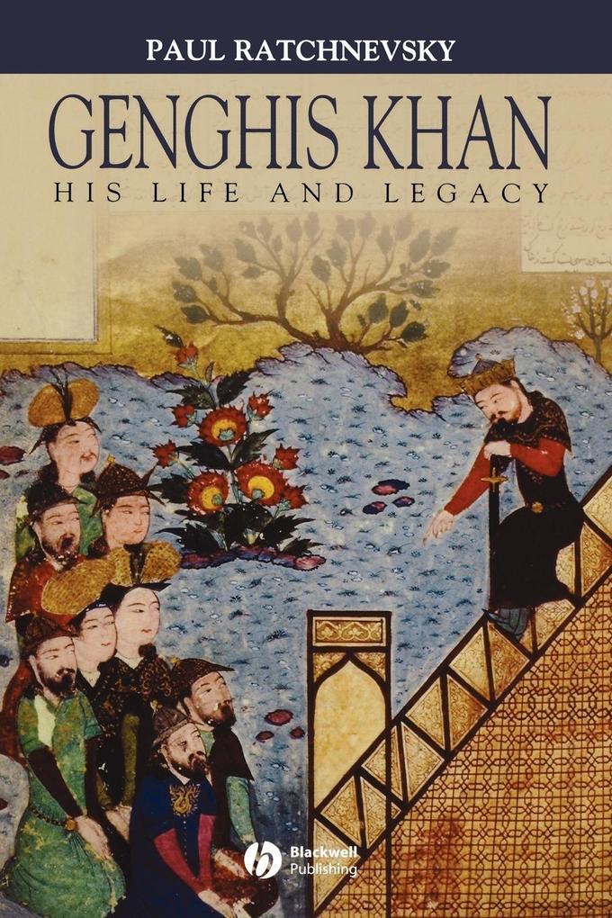 Genghis Khan als Buch (kartoniert)