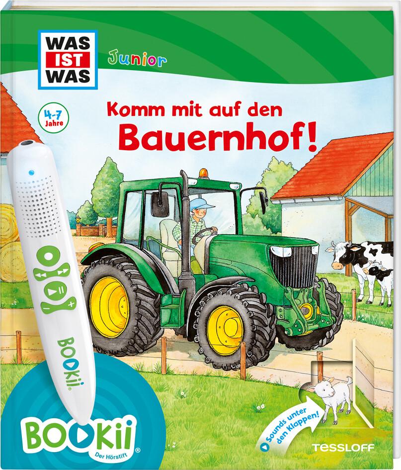 BOOKii® WAS IST WAS Junior Komm mit auf den Bauernhof! als Buch (gebunden)