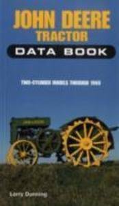 John Deere Tractor Data Book als Taschenbuch