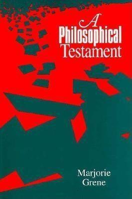 A Philosophical Testament als Taschenbuch