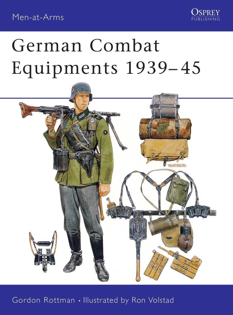German Combat Equipment, 1939-45 als Taschenbuch