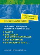 Abitur Deutsch Leistungskurs Nordrhein-Westfalen 2020 - Königs Erläuterungen-Paket.