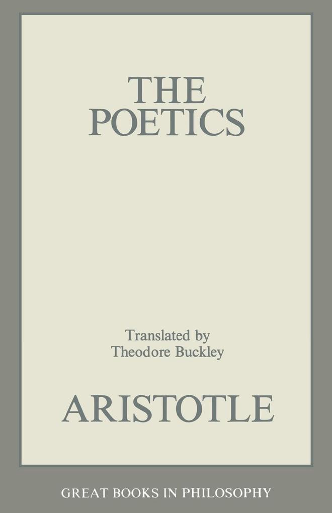 Poetics als Taschenbuch