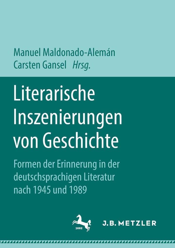 Literarische Inszenierungen von Geschichte als eBook pdf
