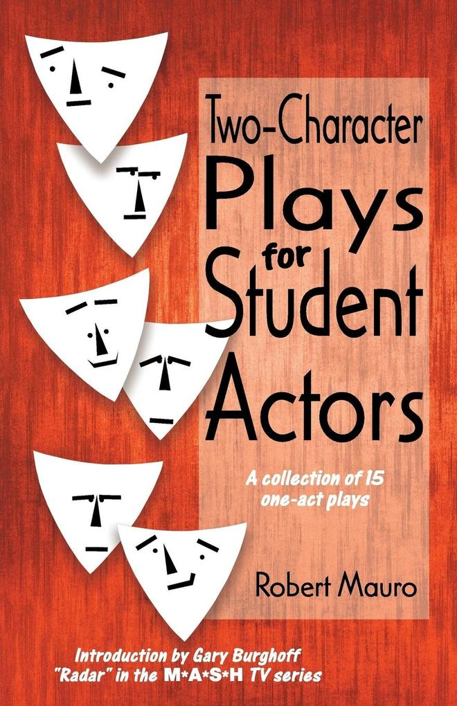 Two-Character Plays for Student Actors als Taschenbuch