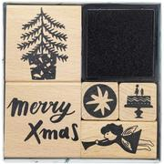 Stempelset, Jolly Christmas, Engel