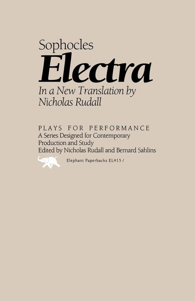 Electra als Taschenbuch