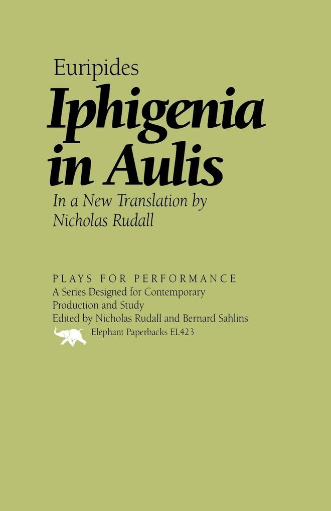 Iphigenia in Aulis als Taschenbuch