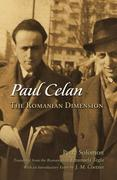 Paul Celan: The Romanian Dimension