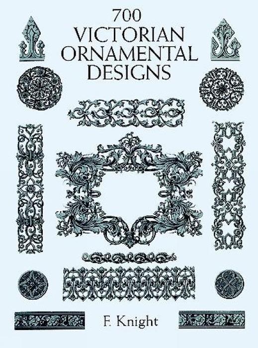 700 Victorian Ornament Designs als Taschenbuch