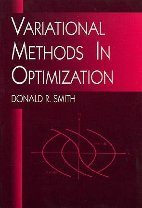 Variational Methods in Optimization als Taschenbuch