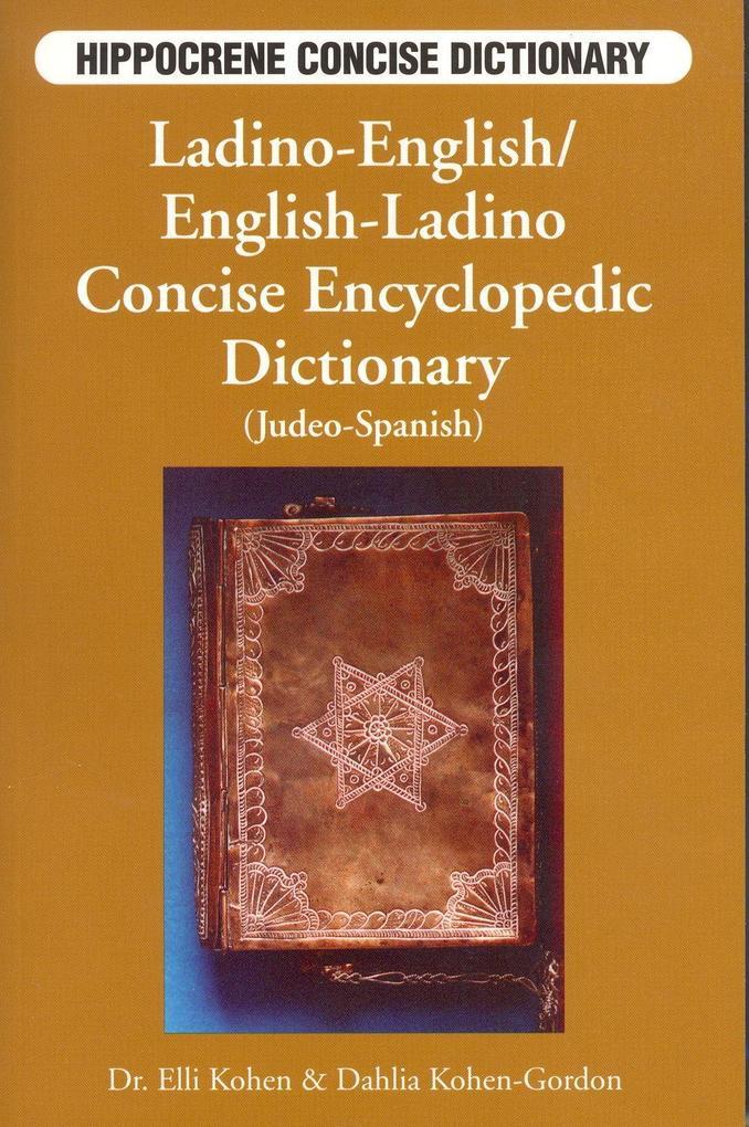 Ladino-English/English-Ladino Concise Dictionary als Taschenbuch