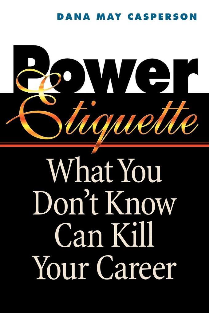 Power Etiquette als Taschenbuch
