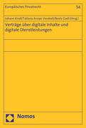 Verträge über digitale Inhalte und digitale Dienstleistungen