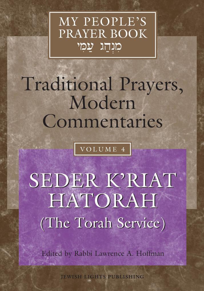 My People's Prayer Book Vol 4 als Buch (gebunden)