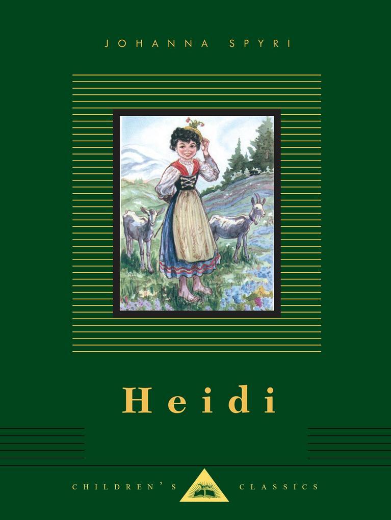 Heidi als Buch (gebunden)