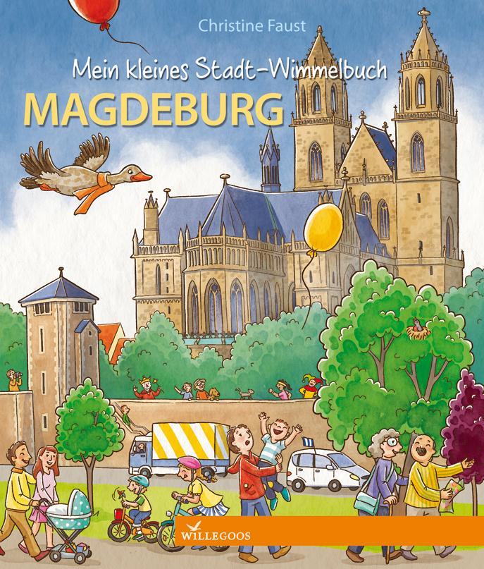 Mein kleines Stadt-Wimmelbuch Magdeburg als Buch (kartoniert)