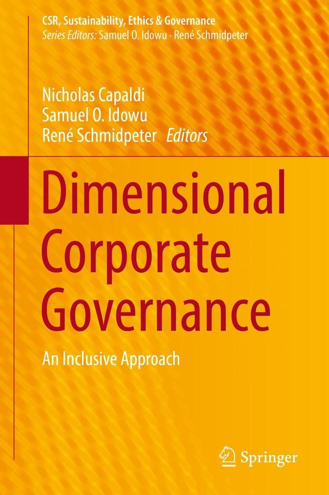 Dimensional Corporate Governance als eBook pdf